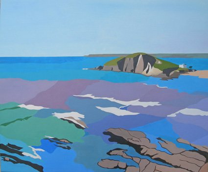 Bantham, after the October storms, Diptych