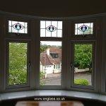 Bay window fanlight patterns