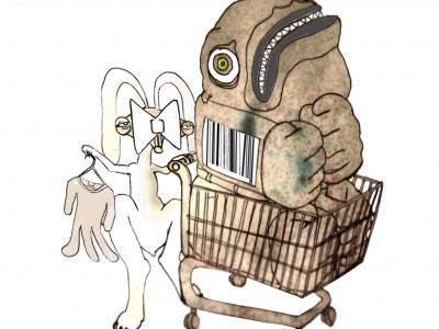 Behemoth and Friend go Shopping, 2010.