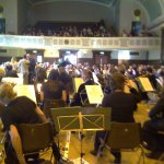 Behind the Orchestra