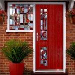 Bevel & Jewelled door and side windows