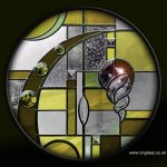 Bevel & Jewelled glass #design