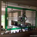 Bevel glass window design