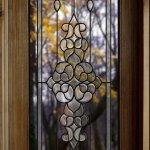 #Bevelled #glass #door
