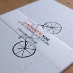 Bicyclette Noir post card set