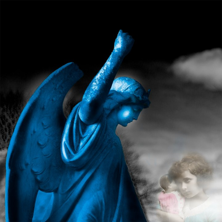 'Blue Blue Guardian Angel'