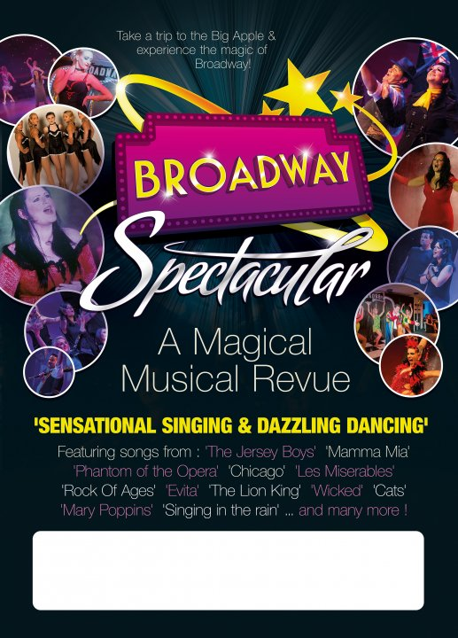 Broadway Spectacular Friday 26th September 2014 - 7.30pm