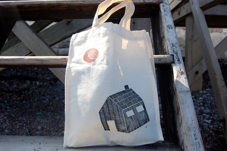 Cabin mini tote bag