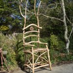 Celtic rustic Throne