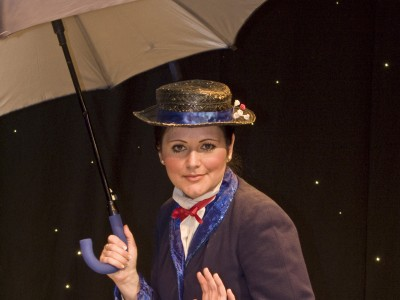 Charlene as Mary Poppins