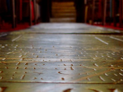 church floor