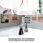 Cockington Exhibition poster