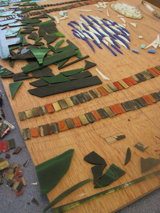 Contemporary Craft Fair - Bovey Tracey - Mosaic