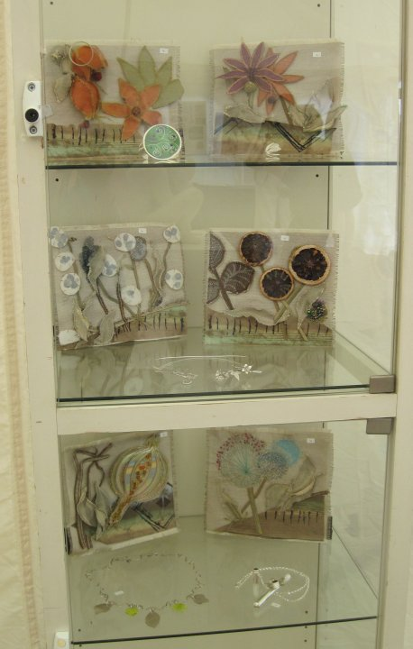 Contemporary Craft Fair - Bovey Tracey - Textile and Jewellery