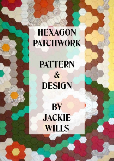 "Cover of book ""Hexagon Patchwork - Pattern  Design"""