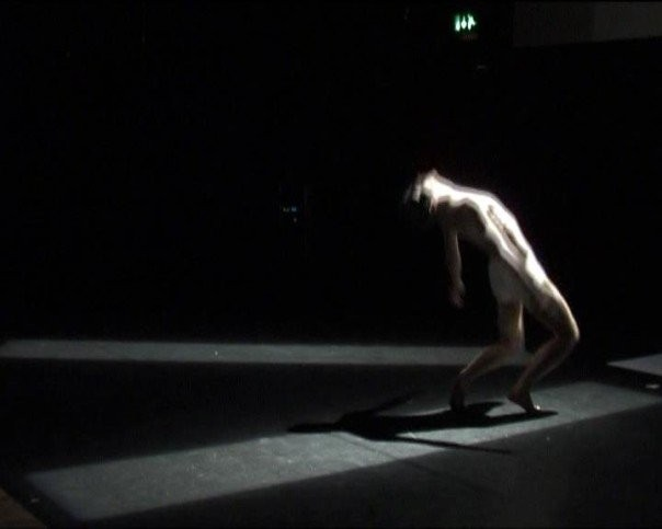 "Curt Hennells performance @ Exeter Phoenix ""grotesque"" 06."