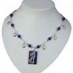 Deep Blue Necklace Val 007