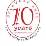 Delamore 10th anniversary logo