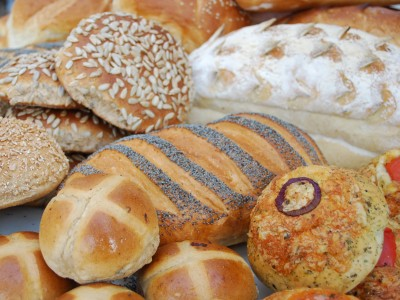 Delicious breads baked in our artisan Bakery