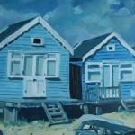 Beach Hut By Robert Cordingley
