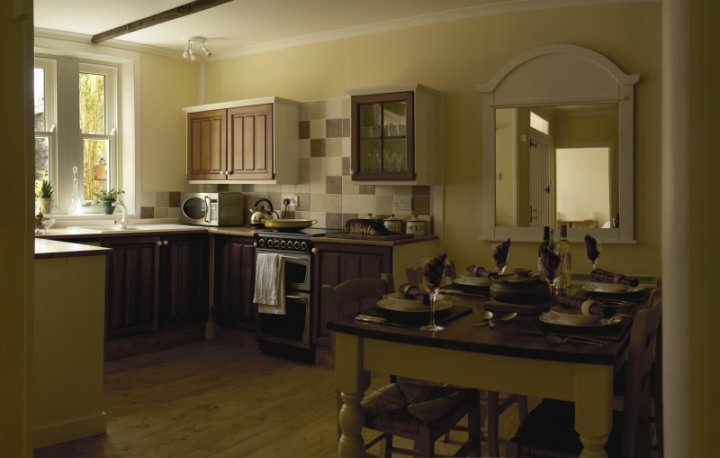 Duncraig Square Coach House Kitchen and Dining Room