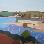 Erme Estuary, rising tide #1