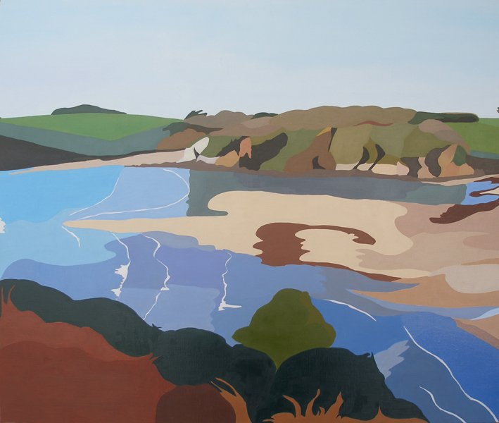 Erme Estuary, rising tide #1
