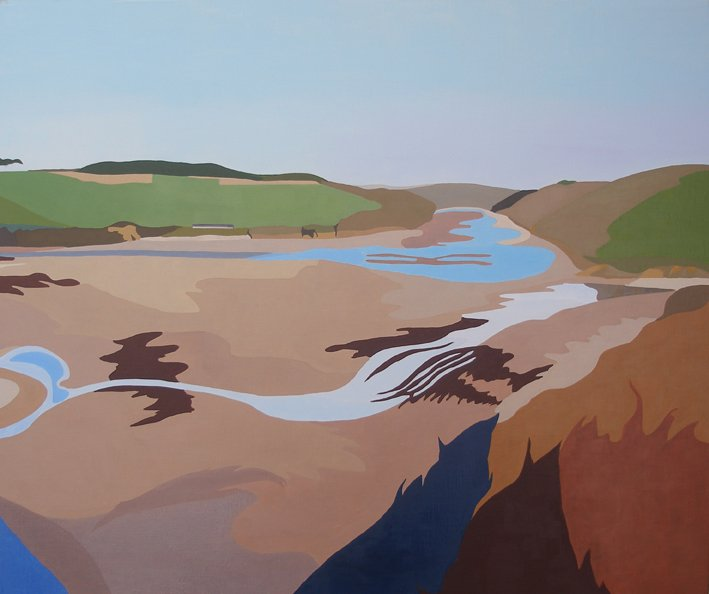 Erme Estuary, rising tide #2