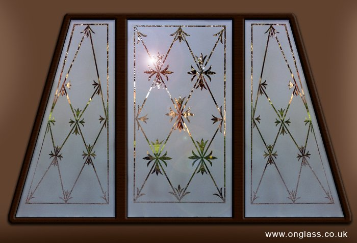 Etched glass replication
