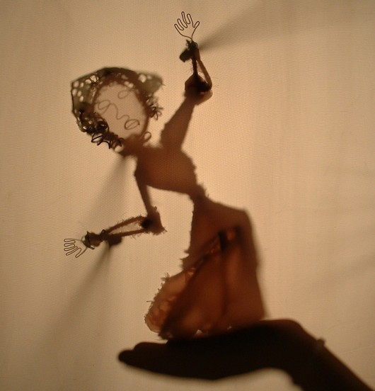 Evangeline, shadow puppets depict a legacy of Diaspora
