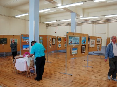 Exhibition 2008, scala Hall, Brixham