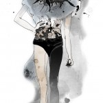 Fashion Illustration - Amelia's Magazine