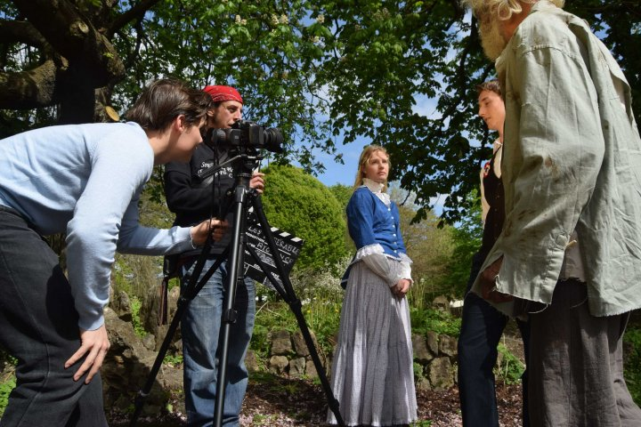 Filming for Torbay based series of Les Miserables,
