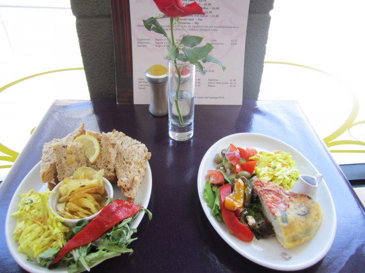 Flavel Arts Cafe Lunches