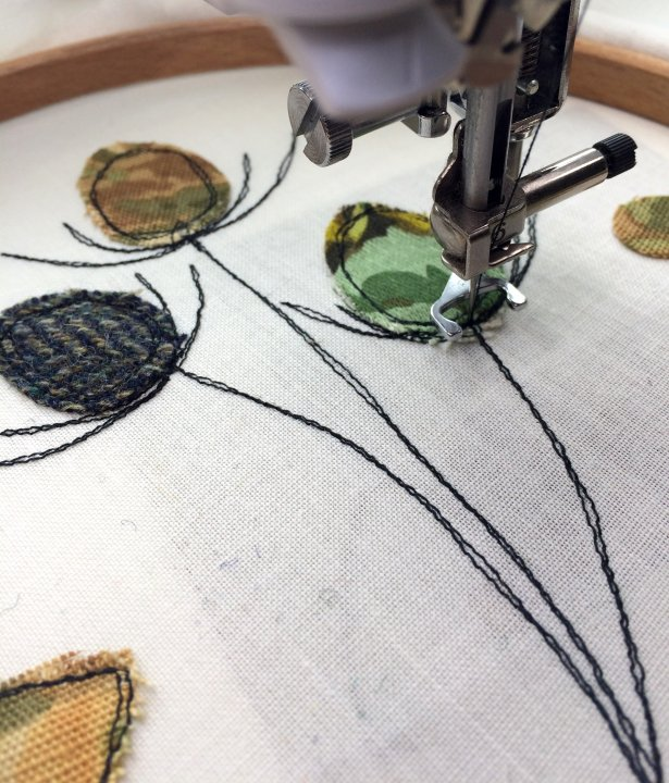 Freehand Machne Embroidery