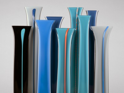 Glass work by Rachel Woodman (Devon Guild Member)