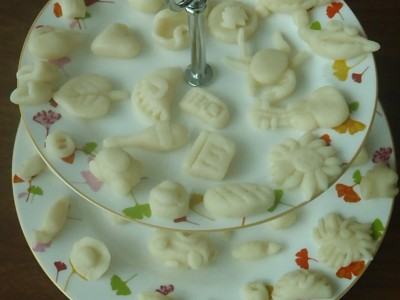 Good luck marzipan wedding sweets