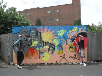 Graffiti Project - Finished piece!