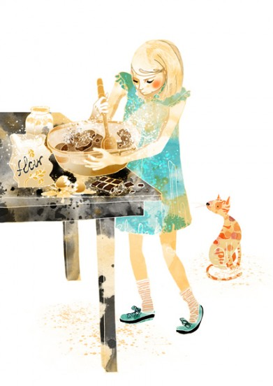 Illustration for editorial : Cooking