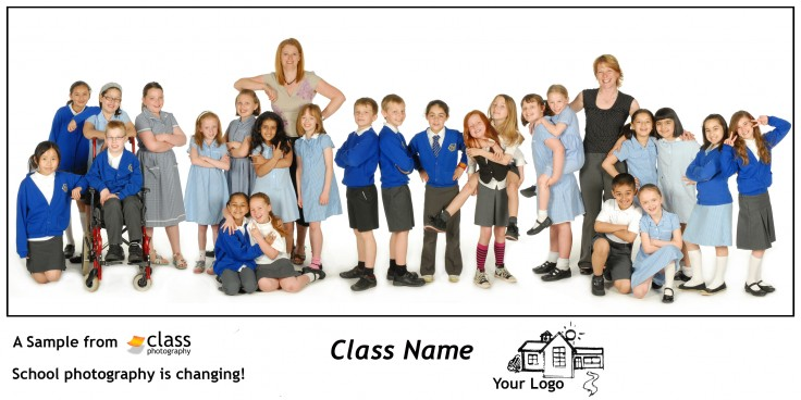 Click on image to see complete Informal School Class Photo