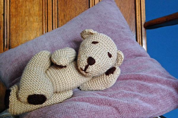 Knitted Ted