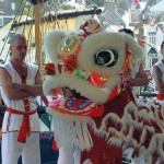 Lion Dance at the Brixham Heritage Festival