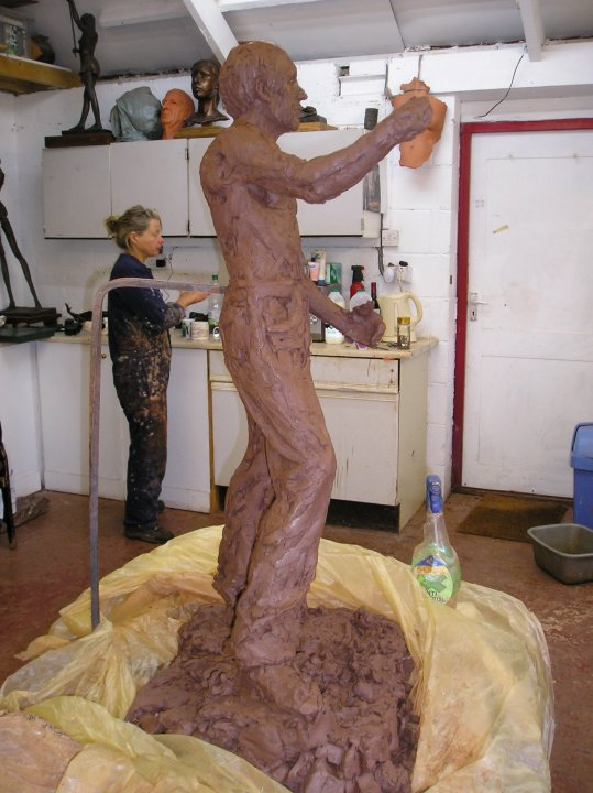 Making of Fish Storm Maquette.