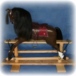 Finished in the livery of the owner's real horse