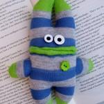 Mini sock monster