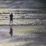 Moonlit Beach, Polzeath