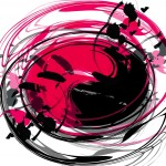 motion spin art