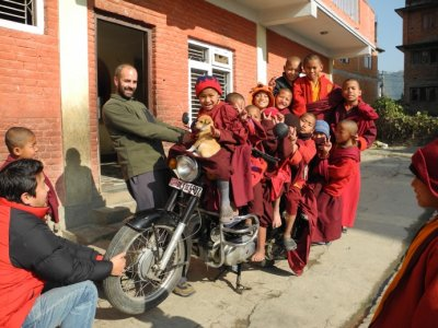 Epic Motorbike Fundraising trip for Tibetan Child Aid