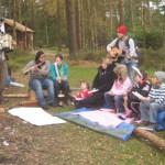 Music making at Haldon Hill
