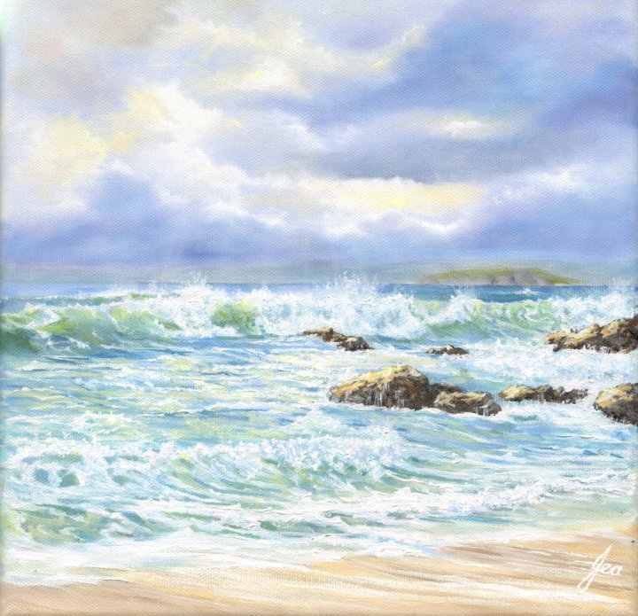 New for 2015 : Sunbreak over Mouthwell Surf